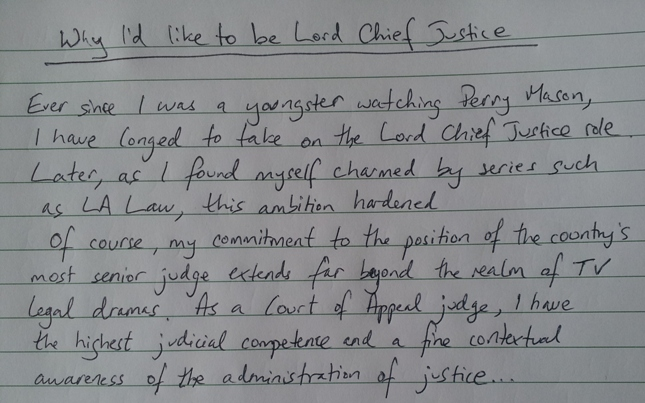 short essay on importance of justice