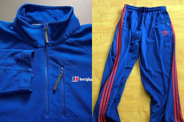 Fleece-trackies