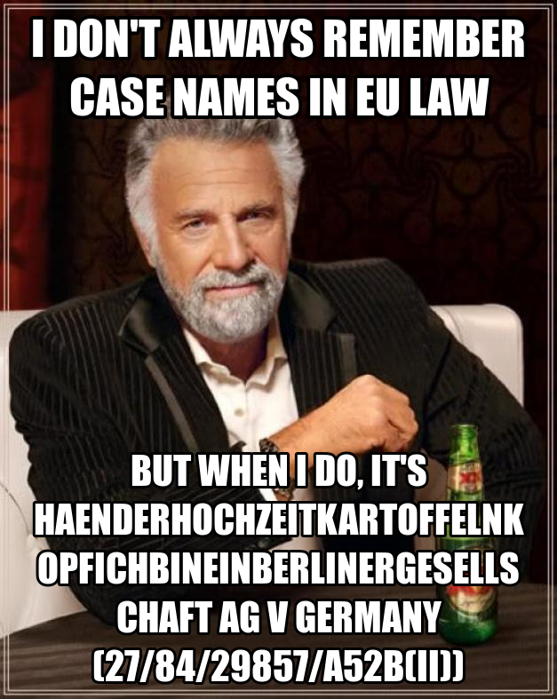 CJEU decisions on TFEU Article 34 in Keck - Law Teacher
