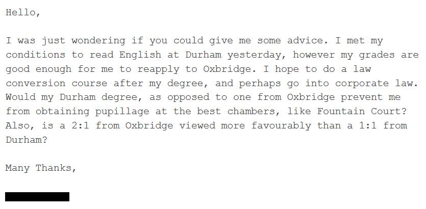 Advice-Durham
