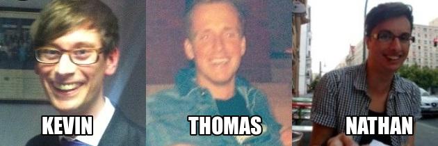 Kevin-Thomas-Nathan-Names