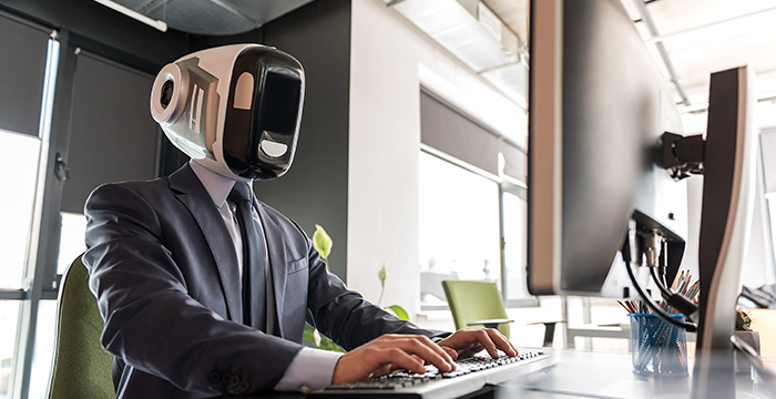 Artificial intelligence AI technology tech lawyers solicitors robot