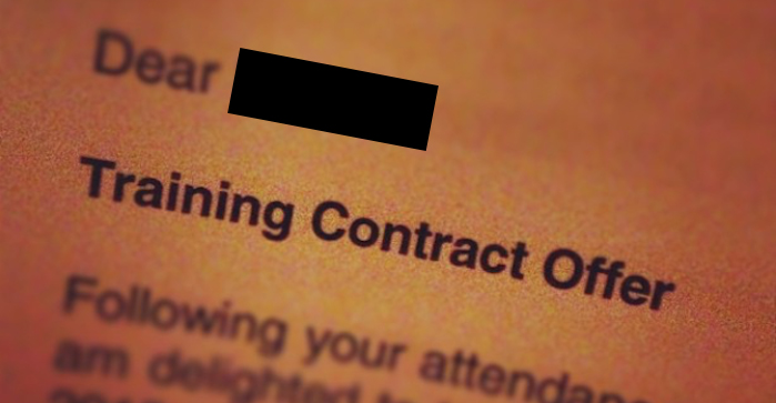 Linklaters redesigns training contract offer letter in bid ...